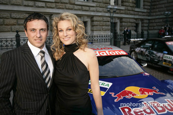Christian Abt with girlfriend Christina Surer