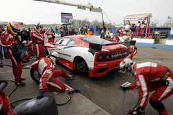 Pitstop action