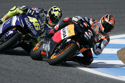 Max Biaggi and Valentino Rossi