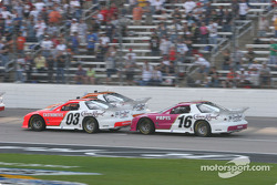 Helio Castroneves and Max Papis