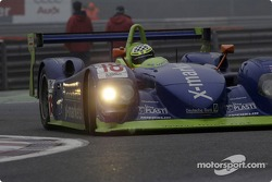 Andrew Thompson drives the #18 Rollcentre Racing Dallara Nissan