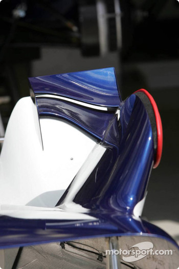 Side wings of the Williams-BMW