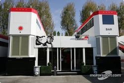 BAR-Honda hospitality area