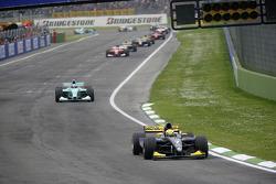 Giorgio Pantano leads Jose Maria Lopez