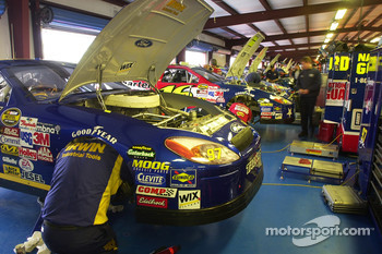Cup teams prepares for the Aaron's 499