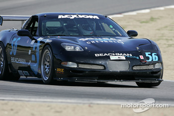 #56 Beachman Racing Corvette: Bruce Beachman, Will Diefenbach