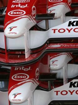 Toyota TF105 nose cones