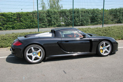 Porsche Carrera GT in the paddock