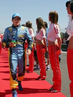 Drivers presentation: Giancarlo Fisichella