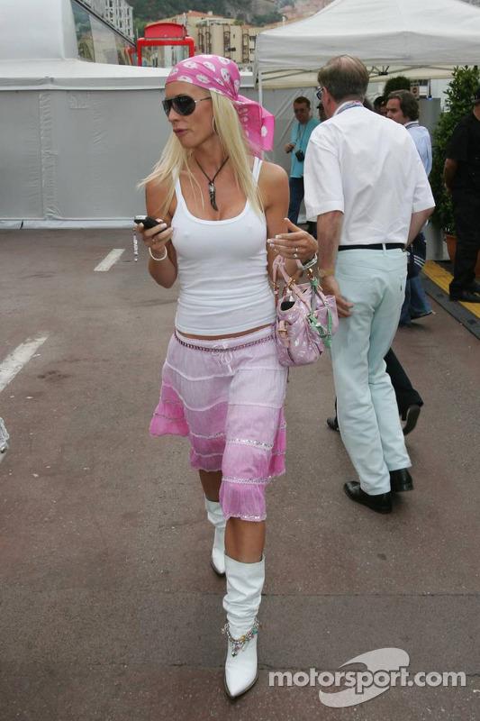 Cora Schumacher At Monaco Gp