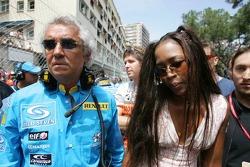Flavio Briatore and Naomi Campbell