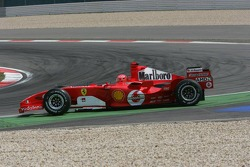 Michael Schumacher goes back to track