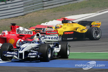 Mark Webber out