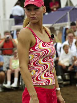 Tennis exhibition match: Anna Kournikova