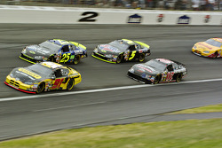 Bill Elliott,Brian Vickers, Kyle Busch and Dave Blaney