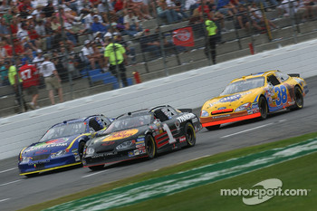 Martin Truex Jr., Robby Gordon and Elliott Sadler