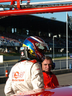 A disappointed Garth Tander after the Top 10
