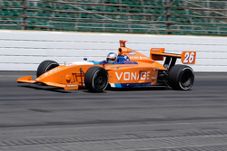 Marco Andretti at speed