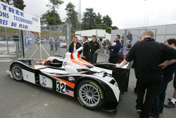 Intersport Racing Lola MG at scrutineering