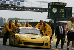 Corvette Racing team members