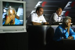 FIA Friday press conference: Flavio Briatore, Christian Horner, Colin Kolles and John Howett