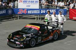 #91 T2M Motorsport Porsche 911 GT3 RS: Xavier Pompidou, Jean-Luc Blanchemain, Yutaka Yamagishi