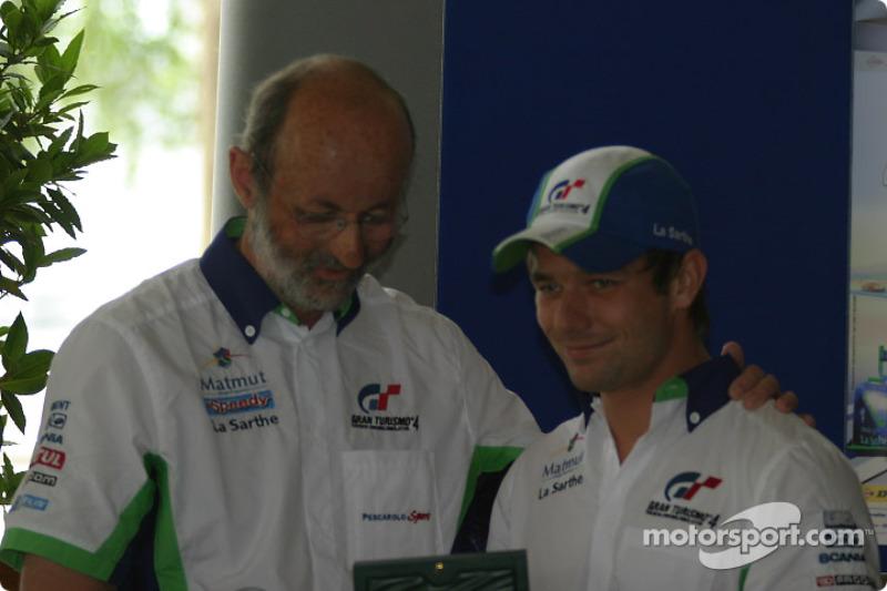Henri Pescarolo and Sébastien Loeb