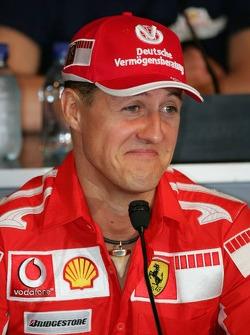 Thursday FIA press conference: Michael Schumacher