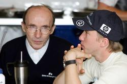 Frank Williams and Nick Heidfeld