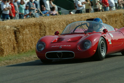 #331 1967 Alfa Romeo Tipo 33/2, class 11: Marco Cajani
