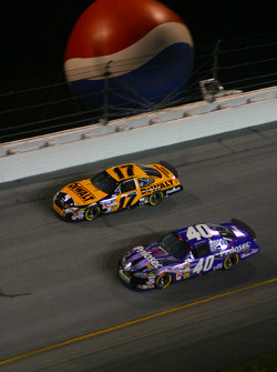Matt Kenseth and Sterling Marlin