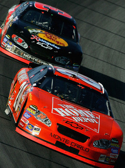 Tony Stewart and Jeff Burton