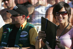 Members of the jury Alex and Bronte Tagliani