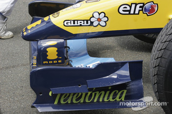 Nose cone of the Renault F1 R24