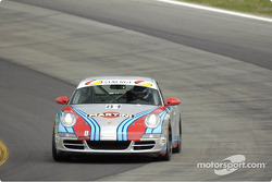 #81 Synergy Racing Porsche 996: Brent Martini, Kelly Collins