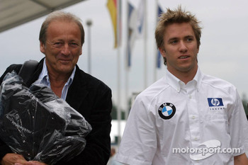 Nick Heidfeld and Werner Heinz