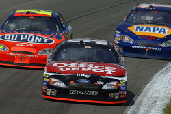 Carl Edwards, Jeff Gordon and Michael Waltrip