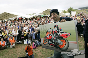 Max Biaggi at a public appearance