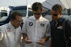 Jacques Villeneuve, Mark Webber and David Coulthard