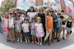 Jackson RaceWeek Festival: Danica Patrick with her fans