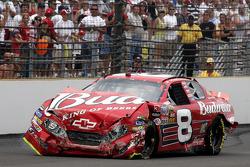 Dale Earnhardt Jr. after his crash