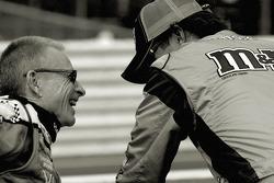 Mark Martin and Elliott Sadler