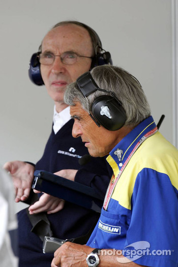 Frank Williams and Pierre Dupasquier