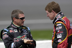 Bobby Labonte and Bill Elliott