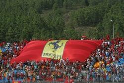 Many tifosi at Istanbul Otodrom