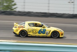 #68 SpeedSource Mazda RX-8: Scott Schlesinger, Jeff Altenburg