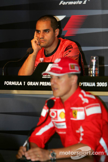 FIA Thursday press conference: Michael Schumacher and Juan Pablo Montoya