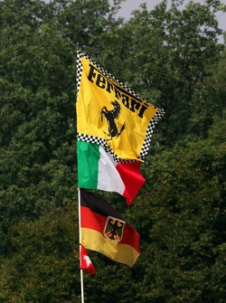 Flags at Monza