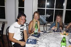 Giorgio Pantano with friends