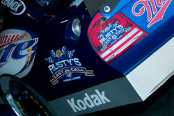 Decals remind us of Rusty Wallace's pending retirement